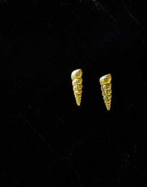 Orit Elhanati   Waves   Seashell Earrings