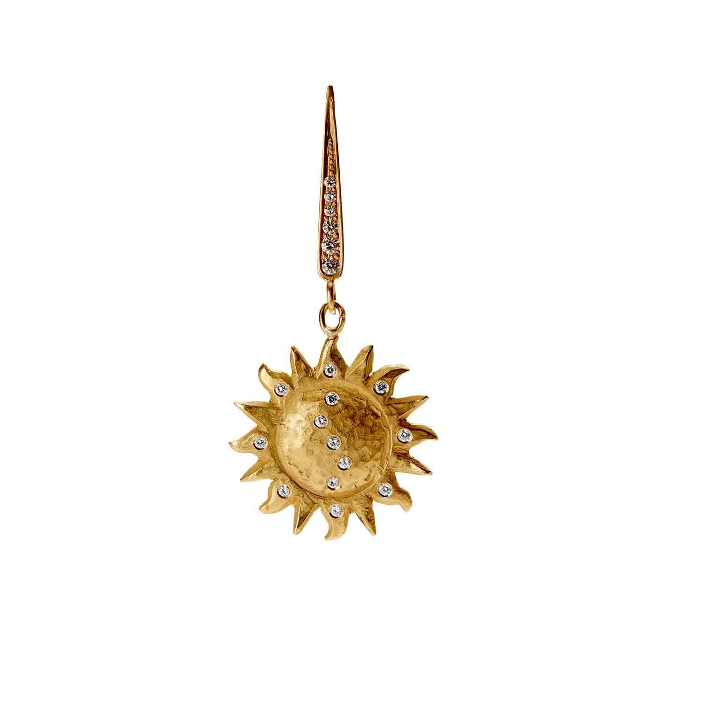 Orit Elhanati Large Sun Earring l7t67MnF