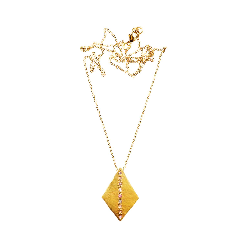 Orit Elhanati Pink Sky yellow-gold medium necklace l4tqMmlN8B